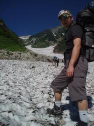 む。と大雪渓