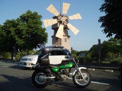 おっきな風車だね