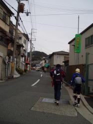 鵯越の町中
